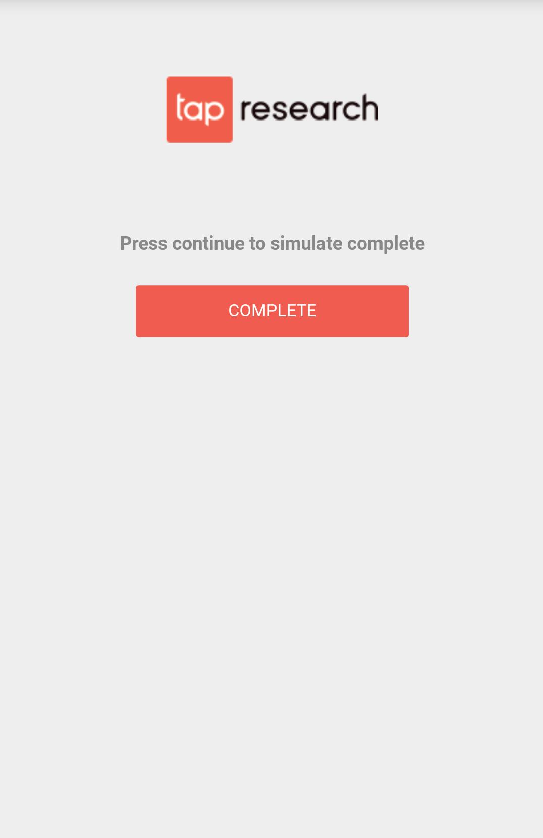 App Checklist